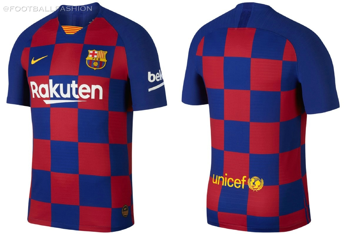new product e9956 58178 FC Barcelona 2019/20 Nike Home Kit - FOOTBALL FASHION.ORG
