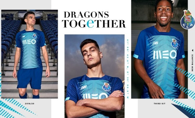 FC Porto 2019 2020 New Balance Third Football Kit, Soccer Jersey, Shirt, Camisa, Camisola