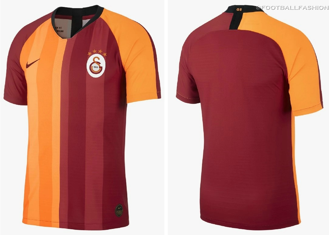 sports shoes f0312 fa5b9 Galatasaray 2019/20 Nike Home Kit - FOOTBALL FASHION.ORG