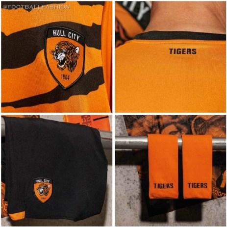 Hull City 2019 2020 Umbro Home Football Kit, Soccer Jersey, Shirt
