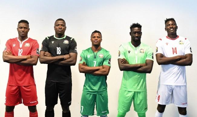 Kenya 2019 AFCON Macron Foot5ball Kit, Soccer Jersey, Shirt