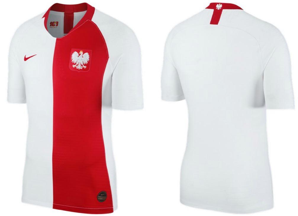 2728d571e Poland 2019 Nike 100th Anniversary Football Kit, Soccer Jersey, Stroje  Polski, Polska,