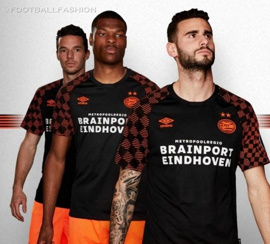 PSV Eindhoven 2019 2020 Umbro Away Football Kit, Soccer Jersey, Shirt, Tenue, Uitshirt