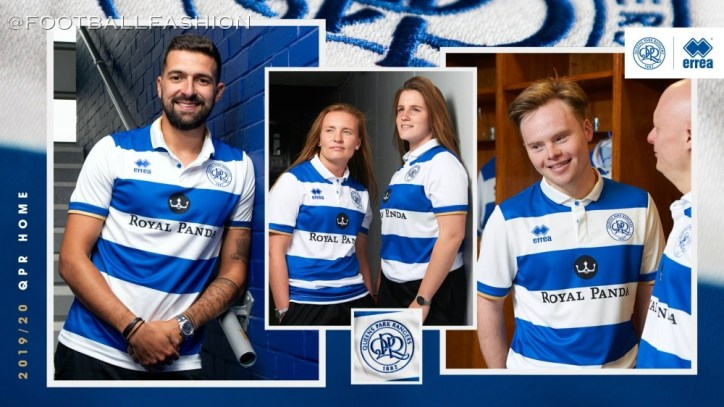 Queens Park Rangers 2019 2020 Errea Home and Away Football Kit, Soccer Jersey, Shirt