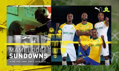 Mamelodi Sundowns 2019 2020 PUMA Football Kit, Soccer Jersey, Shirt