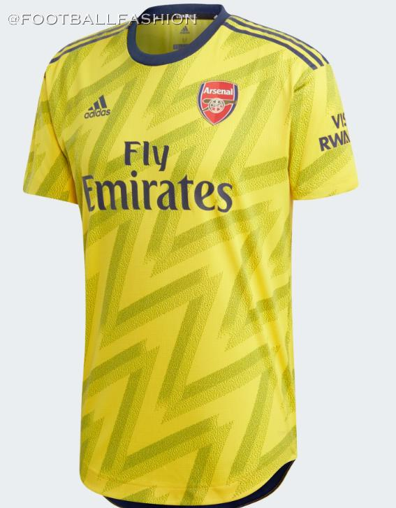 info for 86d13 87061 Arsenal 2019/20 adidas 'Bruised Banana' Away Kit - FOOTBALL ...