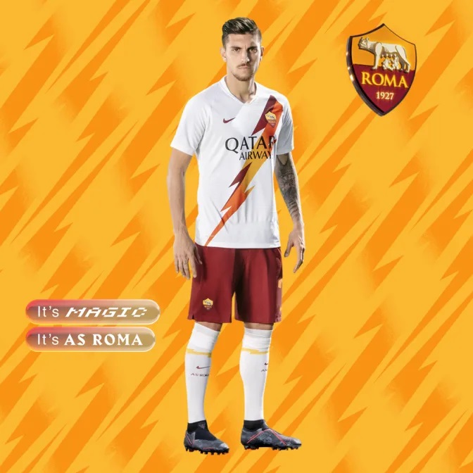 AS Roma 2019/20 Nike Away Kit - FOOTBALL FASHION ORG