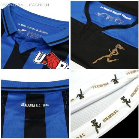 Atalanta 2019 2020 Joma Home and Away Football Kit, Soccer Jersey, Shirt, Maglia, Gara