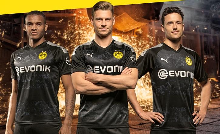 Borussia Dortmund 2019 20 Puma Away Kit Football Fashion