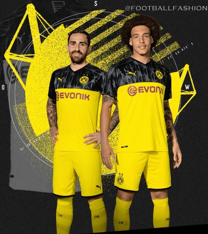 Borussia Dortmund 2019 20 Puma Cup Kit Football Fashion