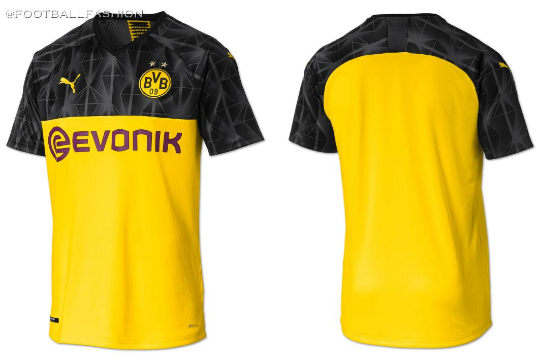 low priced 6e59d 51f2a Borussia Dortmund 2019/20 PUMA Cup Kit - FOOTBALL FASHION.ORG