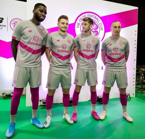 Celtic FC 2019 2020 New Balance Third Football Kit, Soccer Jersey, Shirt