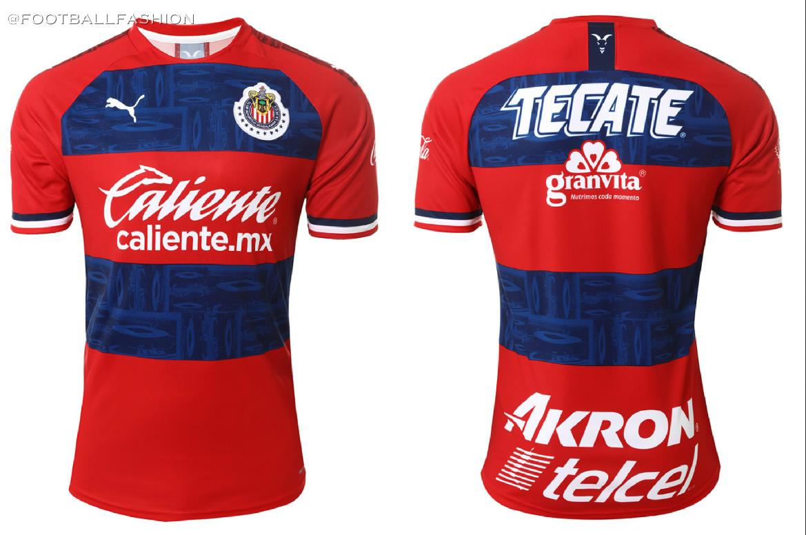 new product 13a0f b236d Chivas de Guadalajara 2019/20 PUMA Home and Away Jerseys ...