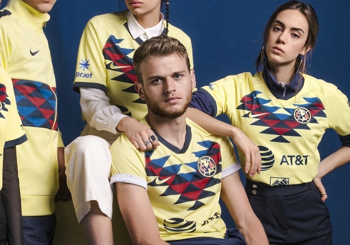 Club América 2019 2020 Nike Home Soccer Jersey, Football Shirt, Kit, Camiseta de Futbol