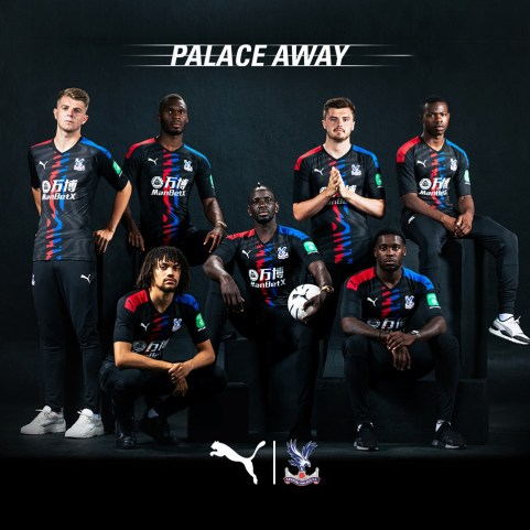 Crystal Palace 2019 2020 PUMA Away Football Kit, Soccer Jersey, Shirt, Camiseta, Maillot