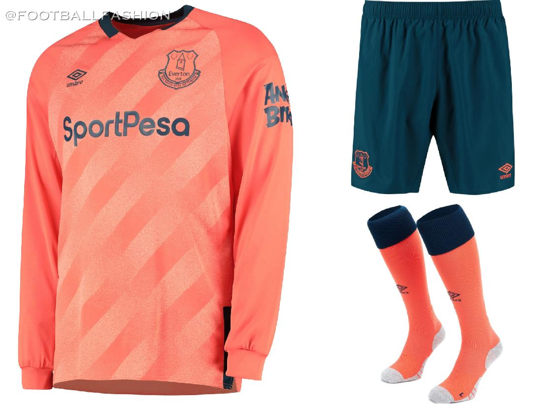 sneakers for cheap 4be0a 6ba14 Everton 2019/20 Umbro Away Kit - FOOTBALL FASHION.ORG