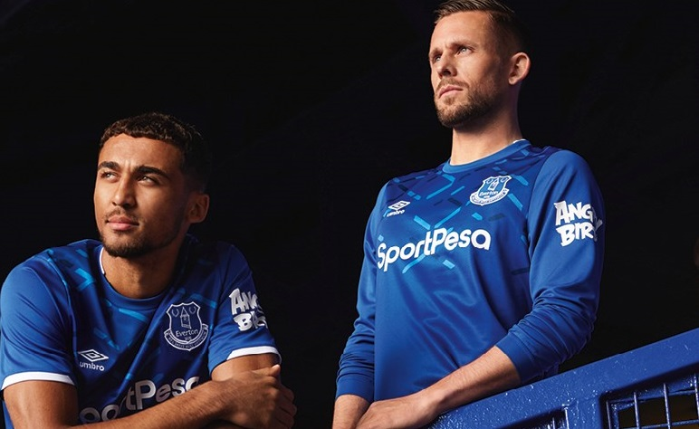 lower price with 09b28 e57be Everton FC 2019/20 Umbro Home Kit - FOOTBALL FASHION.ORG