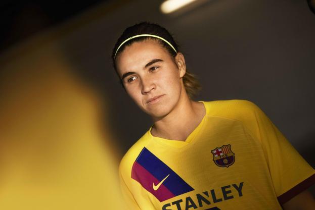 FC Barcelona 2019 2020 Nike Away Football Kit, Soccer Jersey, Shirt, Camiseta, Equipacion, Camisa, Maillot, Trikot, Tenue