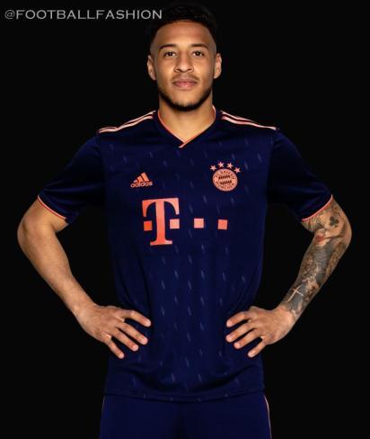 Bayern Munich 2019 2020 adidas Third UEFA Champions League Football Kit, Soccer Jersey, Shirt, Trikot, Maillot, Tenue, Camisa, Camiseta