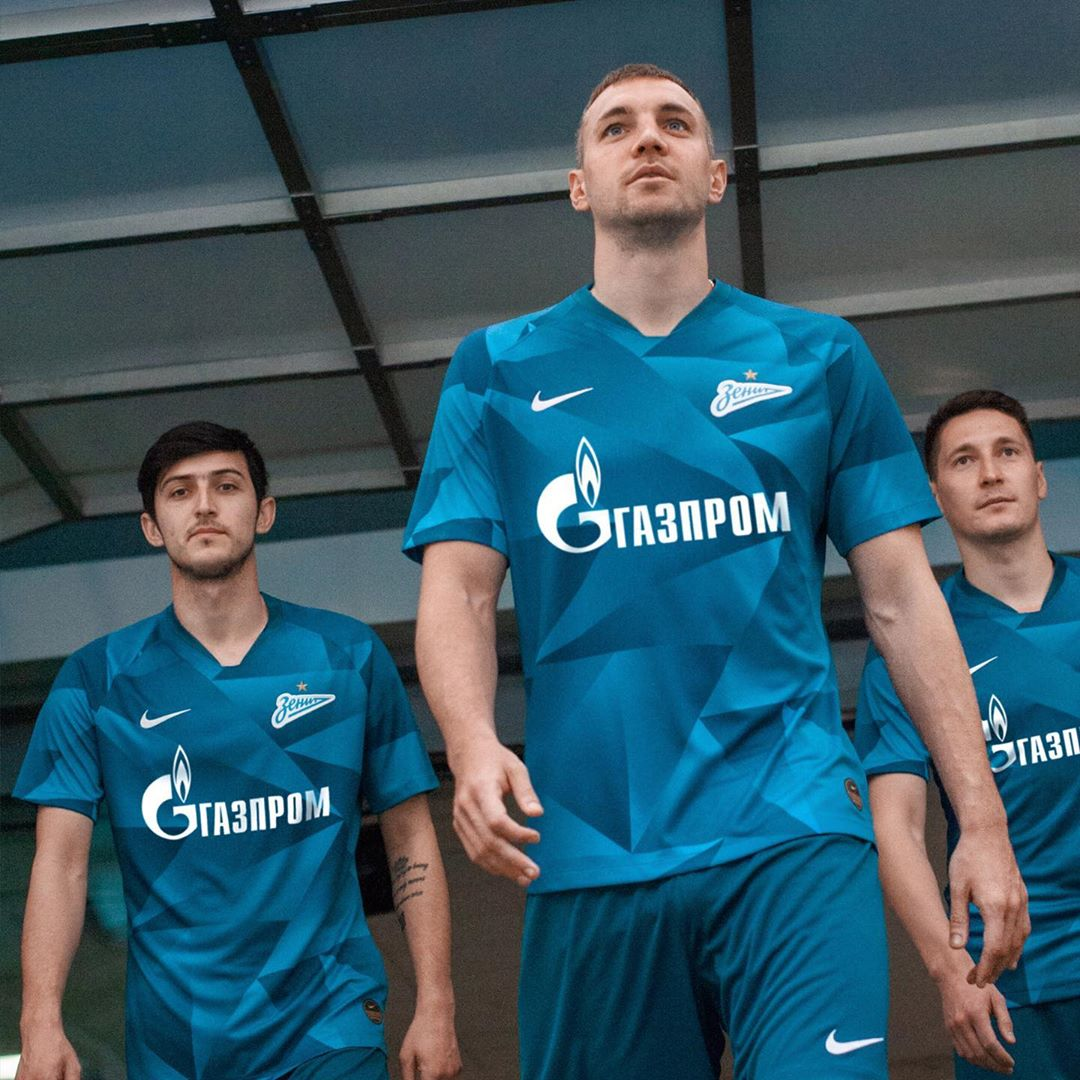 FC Zenit 2019/20 Nike Home and Away Kits - FOOTBALL FASHION ORG