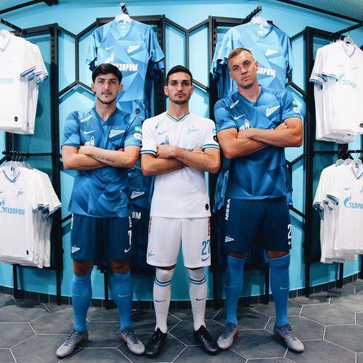 FC Zenit Saint Petersburg 2019 2020 Nike Home and Away Football Kit, Soccer Jersey, Shirt