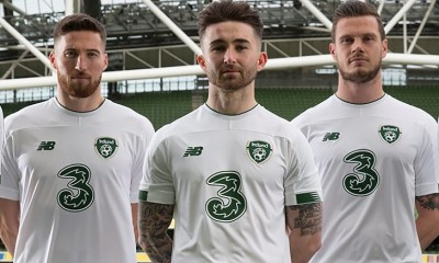 Republic of Ireland 2019 2020 New Balance Away Footall Kit, Soccer Jersey, Shirt