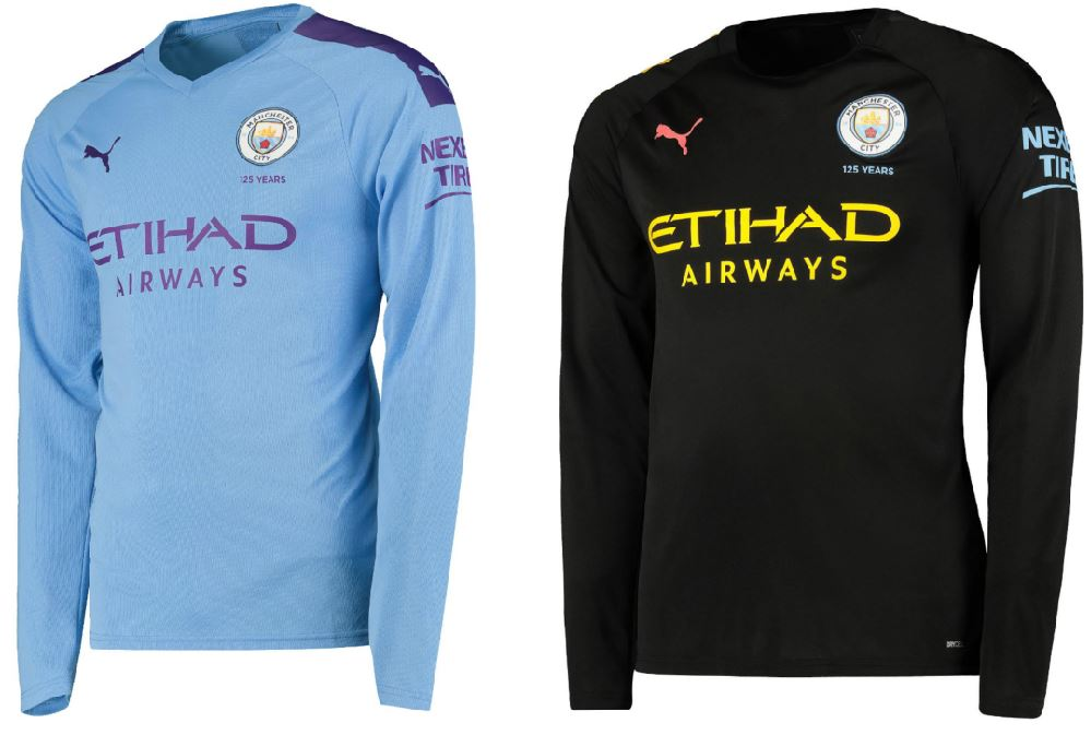 the latest 6ecad 01fff Manchester City 2019/20 PUMA Home and Away Kits - FOOTBALL ...