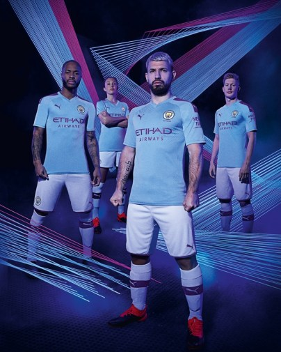 Manchester City FC 2019 2020 Nike Home and Away Football Kit, Shirt, Soccer Jersey, Maillot, Camiseta, Camisa, Trikot, Tenue