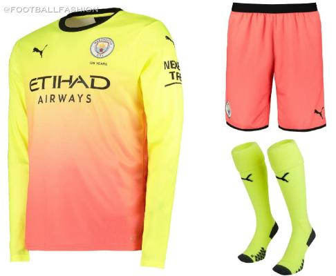 Manchester City FC 2019 2020 PUMA Third Football Kit, Shirt, Soccer Jersey, Maillot, Camiseta, Camisa, Trikot, Tenue