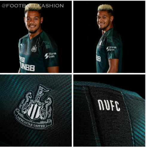 Newcastle United 2019 2020 PUMA Away Football Kit, Soccer Jersey, Shirt, Camiseta de Futbol, Camisa, Maillot