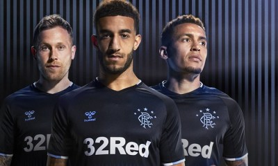 Rangers FC 2019 2020 hummel Away Football Kit, Soccer Jersey, Shirt