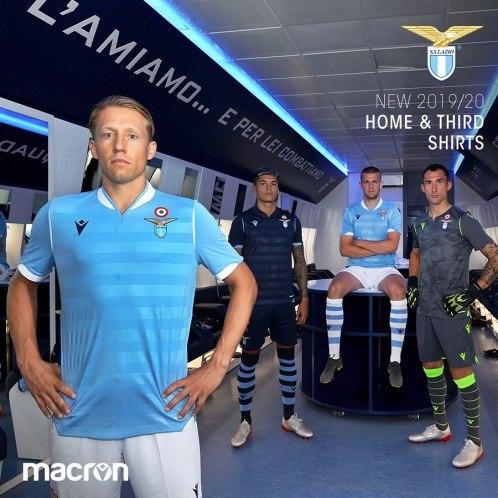 SS Lazio 2019 2020 Macron Home and Third Football Kit, Soccer Jersey, Shirt, Maglia, Gara, Camisa, Camiseta