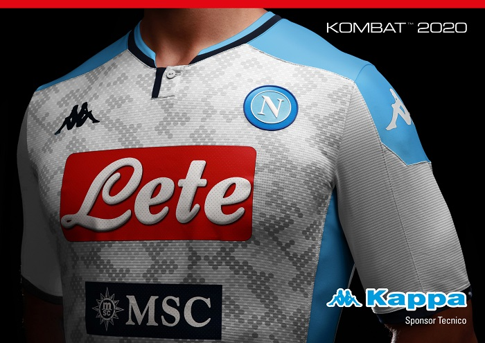 Ssc Napoli 2019 20 Kappa Away And Third Kits Football Fashion Org