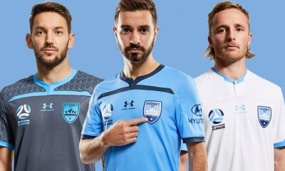 Sydney FC 2019 2020 Under Armour Football Kit, Soccer Jersey, Shirt