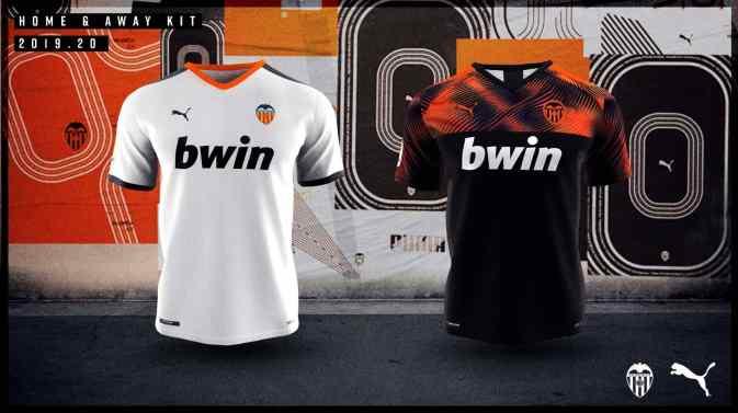 Valencia CF 2019 2020 PUMA Soccer Jersey, Shirt, Football Kit, Camiseta de Futbol