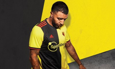 Watford FC 2019 2020 adidas Home Football Kit, Soccer Jersey, Shirt