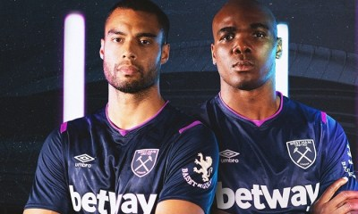 West Ham United 2019 2020 Umbro Third Football Kit, aSoccer Jersey, Shirt, Maillot, Trikot, Camisa, Camiseta