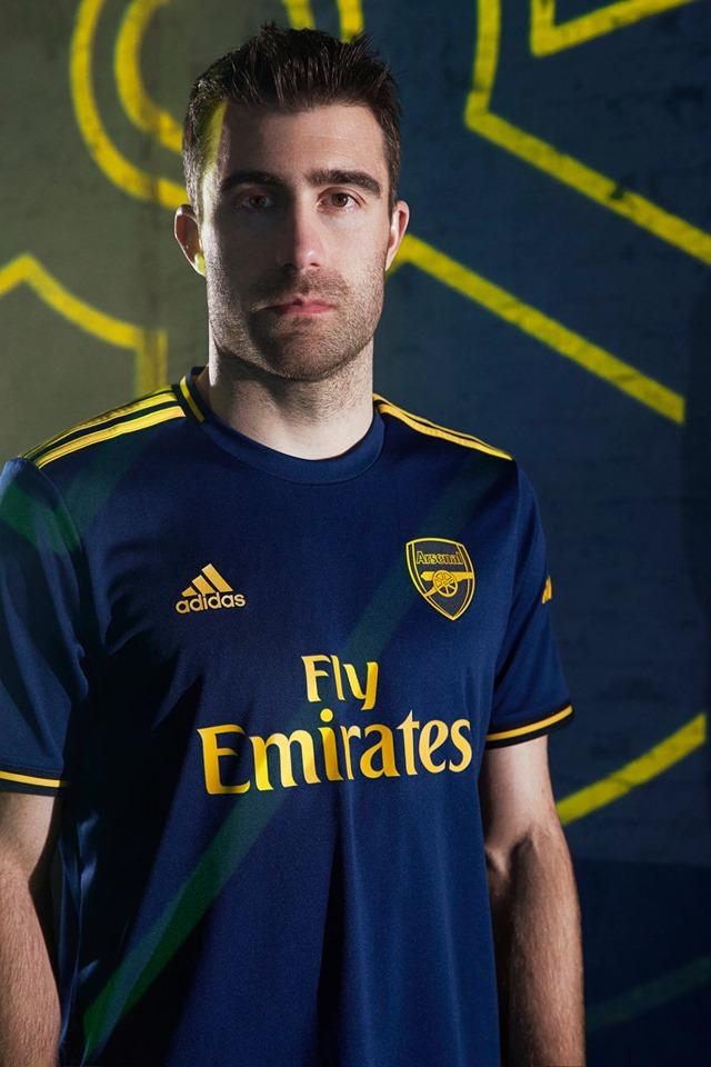 Arsenal 2019 20 Adidas Third Kit Football Fashion Org