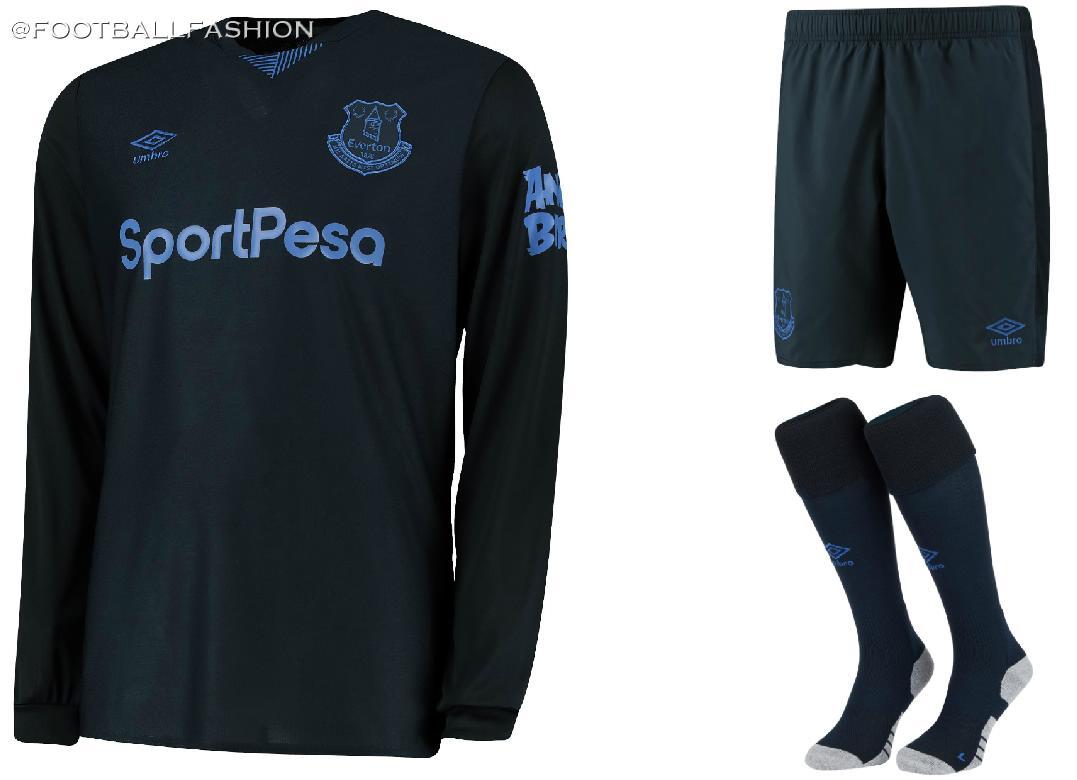 detailing f0866 69a76 Everton 2019/20 Umbro Third Kit - FOOTBALL FASHION.ORG