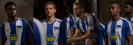 Hertha BSC 2019 2020 Nike Home and Away Football Kit, Soccer Jersey, Shirt, Trikot