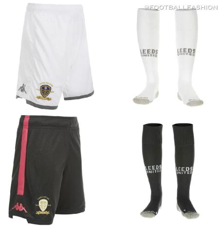 Leeds United 2019 2020 Kappa Home and Away Football Kit, Soccer Jersey, Shirt