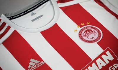 Olympiacos FC 2019 2020 adidas Football Kit, Soccer Jersey, Shirt