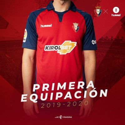 CA Osasuna 2019 2020 hummel Home and Away Football Kit, Soccer Jersey, Shirt, Camiseta de Futbol