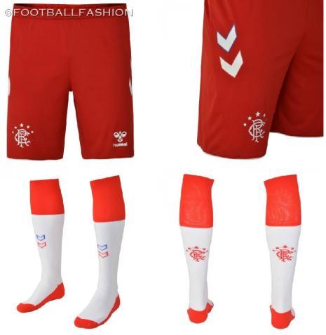 Rangers Football Club 2019 2020 hummel Third Kit, Soccer Jersey, Shirt
