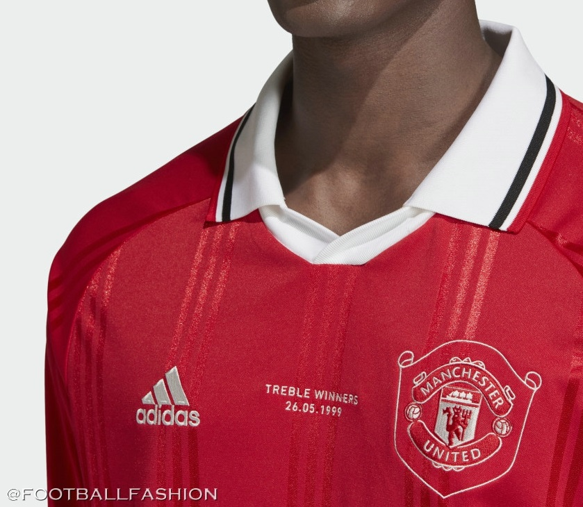 Manchester United 2019 Adidas Icon Jersey Football Fashion