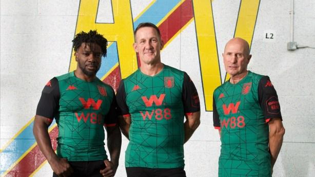 Aston Villa 2019 2020 Kappa Green Third Football Kit, Soccer Jersey, Shirt