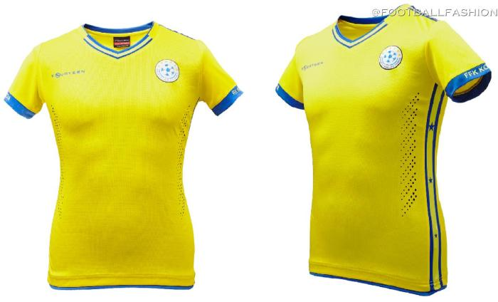 Kosovo 2019 Home, Away and Third Football Kit, Soccer Jersey, Shirt