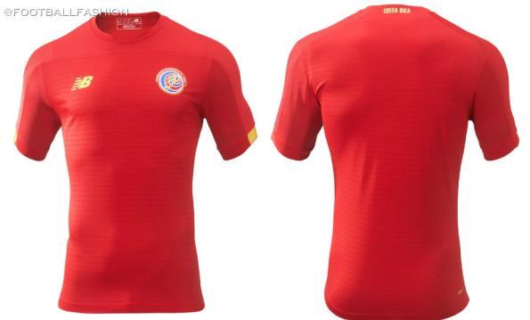 Costa Rica 2019 2020 New Balance Soccer Jersey, Shirt, Football Kit, Camiseta de Futbol