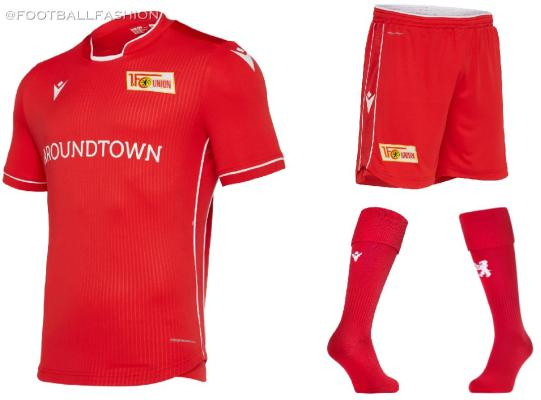 Union Berlin 2019 2020 Macron Football Kit, Soccer Jersey, Shirt, Trikot