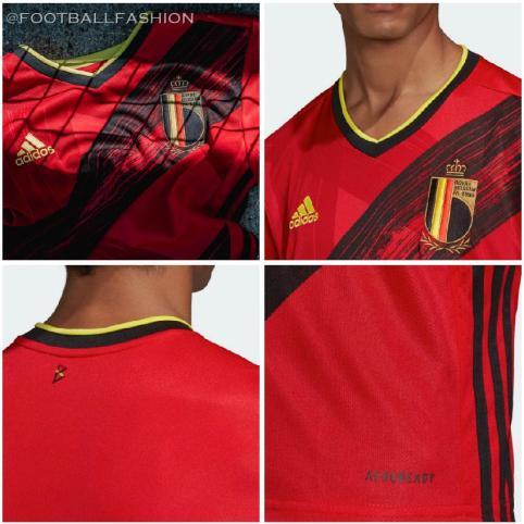 Belgium EURO 2020 2021 adidas Home Football Kit, Soccer Jersey, Shirt, Maillot, Tenue
